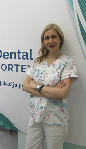 Dr Dubravka Jovanović   oral surgery specialis